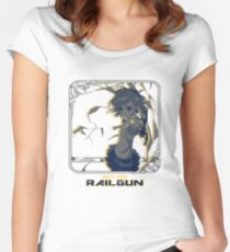 Shots Fired Railgun Women's Fitted Scoop T-Shirt