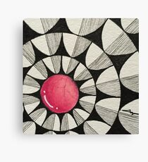 Popping in Pink v2 Canvas Print