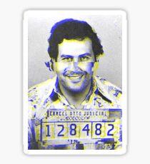 Pablo Escobar GLITCH Sticker