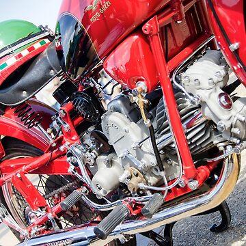 Vintage Moto Guzzi by MartinLome
