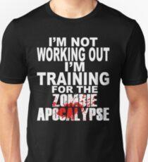 Training für die Zombie-Apokalypse Unisex T-Shirt