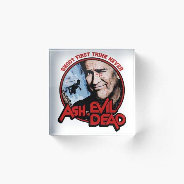 Ash Vs Evil Dead  Acrylic Block