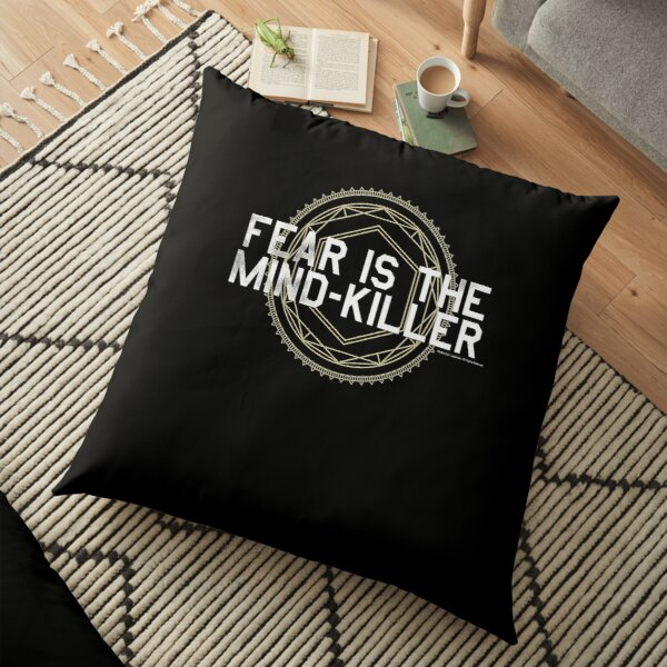 Fear is the Mind  Floor Pillow