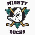Mighty Ducks by FreshPrintsCo