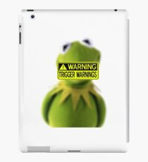 Kermit design iPad Case/Skin