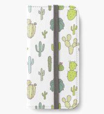 Cacti print iPhone Wallet/Case/Skin