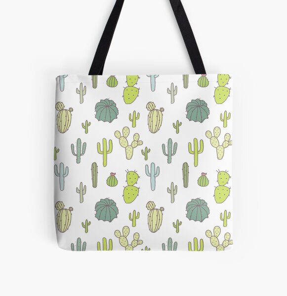 Cacti print All Over Print Tote Bag