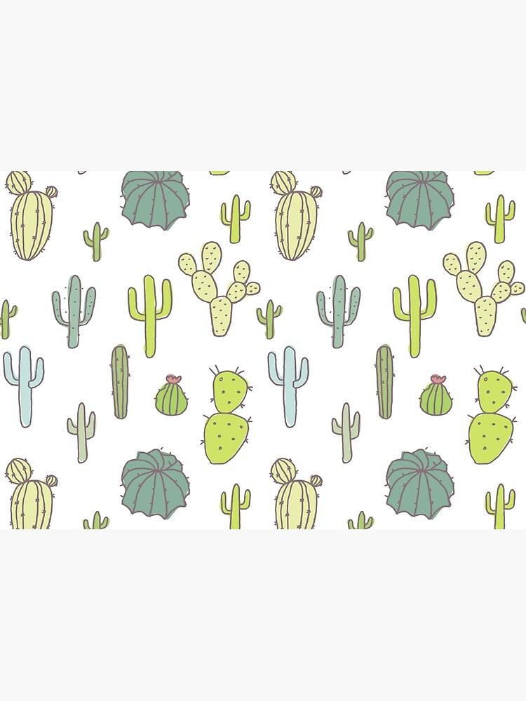 Cacti print by Bakani