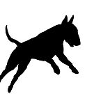 Bull Terrier (Hucklebutt!) by stellarmule
