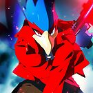 MELEE | Falco - Red by moxie2d