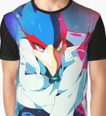 MELEE | Falco - Blue Graphic T-Shirt