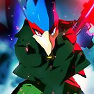 MELEE | Falco - Green by moxie2d