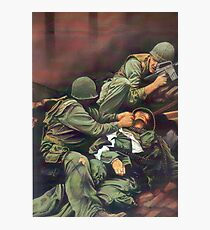 Vietnam Marines  Photographic Print