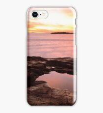 Ocean and Tidal Pool at Dawn iPhone Case/Skin