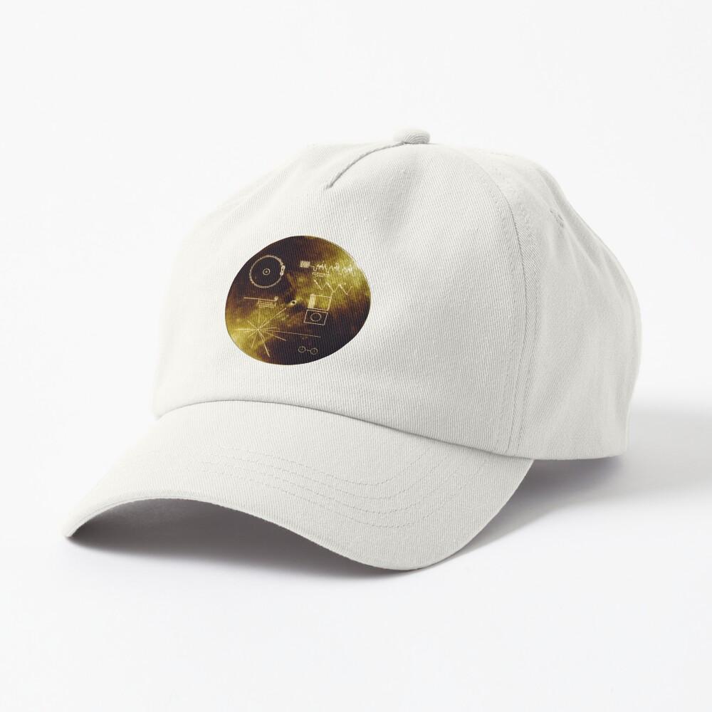 Voyager Spacecraft Golden Record Cap