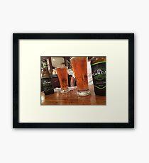 Meantime's London Pale Ale Framed Print