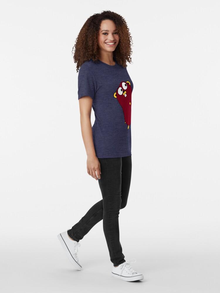 Vista alternativa de Camiseta de tejido mixto Ir a Lang Gopher Run