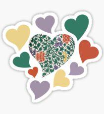 Retro LOVE Sticker
