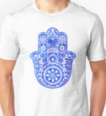 Blues Hamsa Hand Unisex T-Shirt
