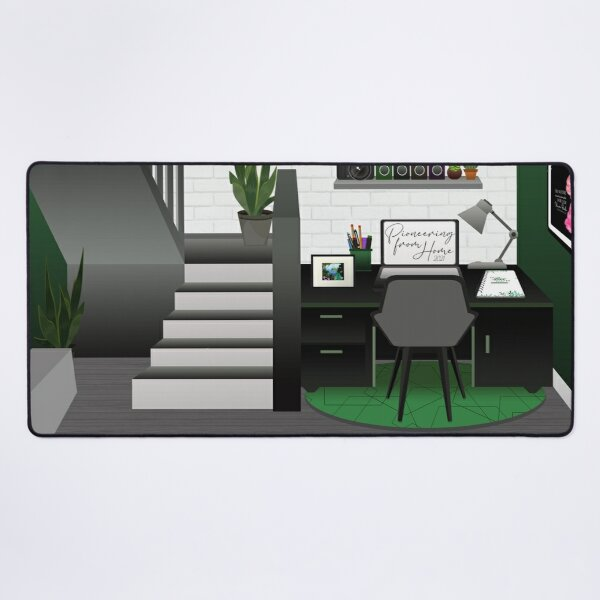 Pioneering From Home Desk Mat