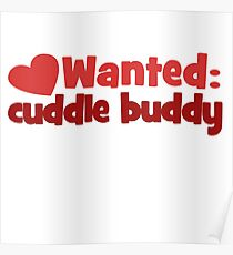 Póster Wanted: Cuddle Buddy