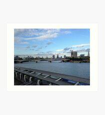 The Thames, London Art Print
