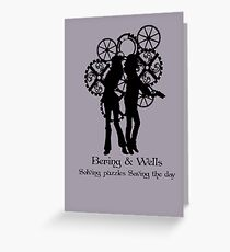 Bering & Wells  Greeting Card