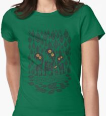 Autumn Leaves Women's Fitted T-Shirt