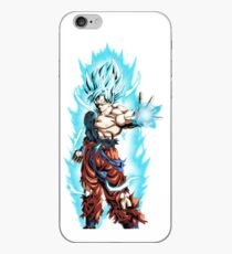 Son Goku Super Saiyan Blue iPhone Case