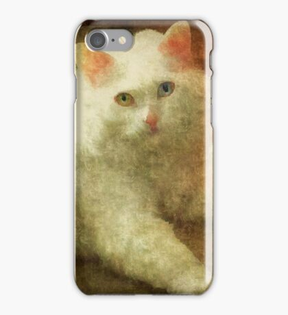 Vintage Kitty Cat iPhone Case/Skin