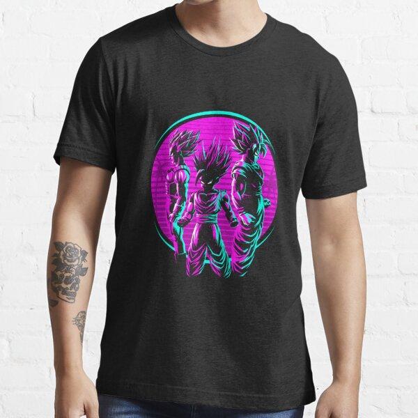 Retro 3 Warriors Dragon Ball Essential T-Shirt
