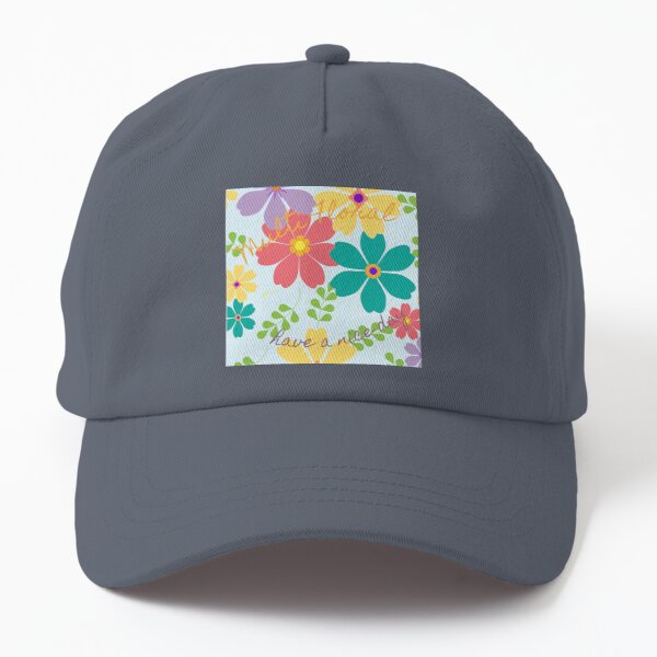 Multi-Floral - Have a nice day Dad Hat