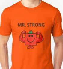 Mr Men Hit the Gym 'Mr Strong' T-Shirt