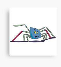 Kleine Spinne Canvas Print