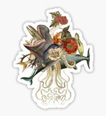 Blood Dolphin Crescendo Sticker
