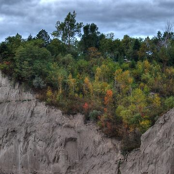 Scarborough Bluffs at Canadian Thanksgiving by Jessticulate