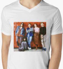Breakfast Club Men's V-Neck T-Shirt