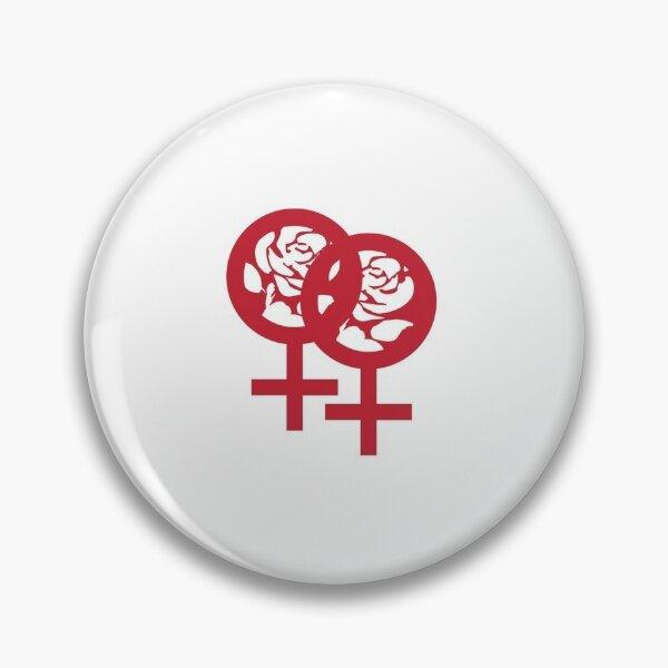 Lesbian Labour Logo pin  Pin