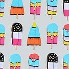 Paper popsicle pattern by lolipoptalia