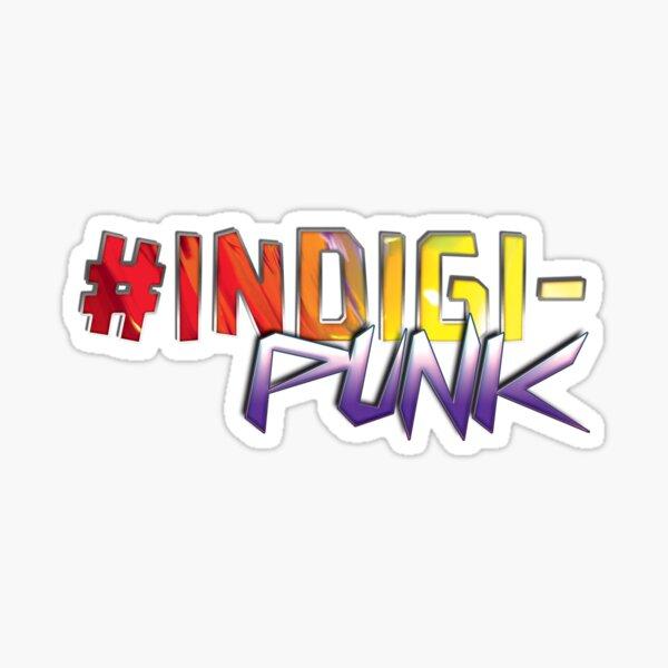 #Indigipunk Sticker