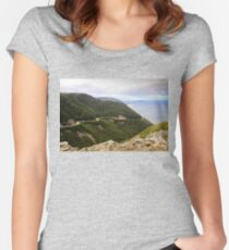 Cabot Trail, Cape Breton Island Women's Fitted Scoop T-Shirt