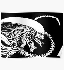 Alien Xenomorph Poster