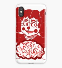 Circus Baby's Pizza World iPhone Case