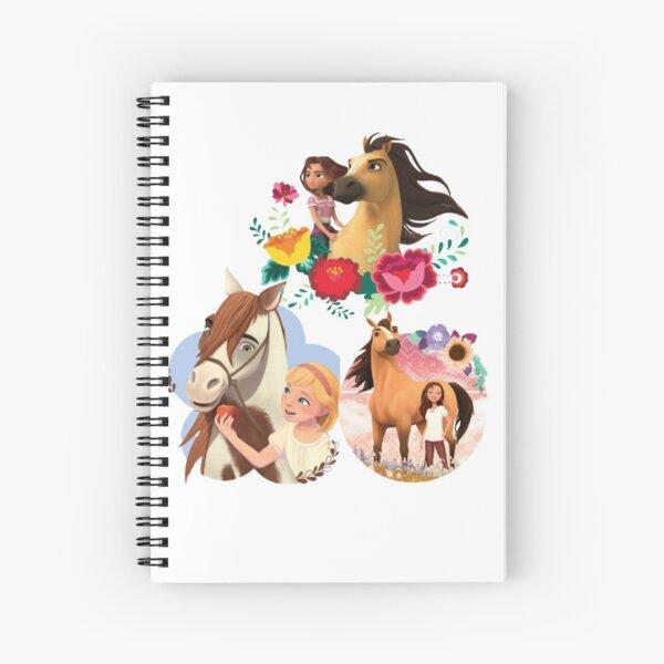 Spirit Riding Free animation series Spiral Notebook