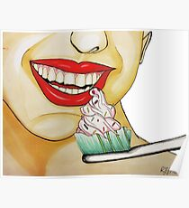 Brush your teeth! Poster