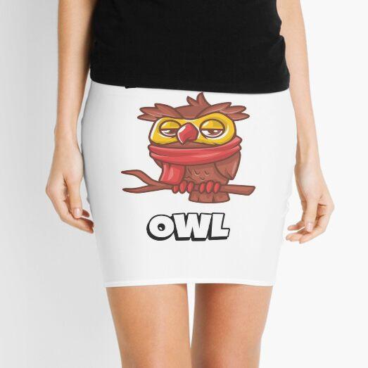 Night Owl - Funny Mini Skirt
