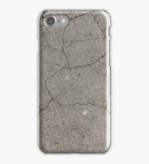 Cracked Pavement iPhone Case/Skin
