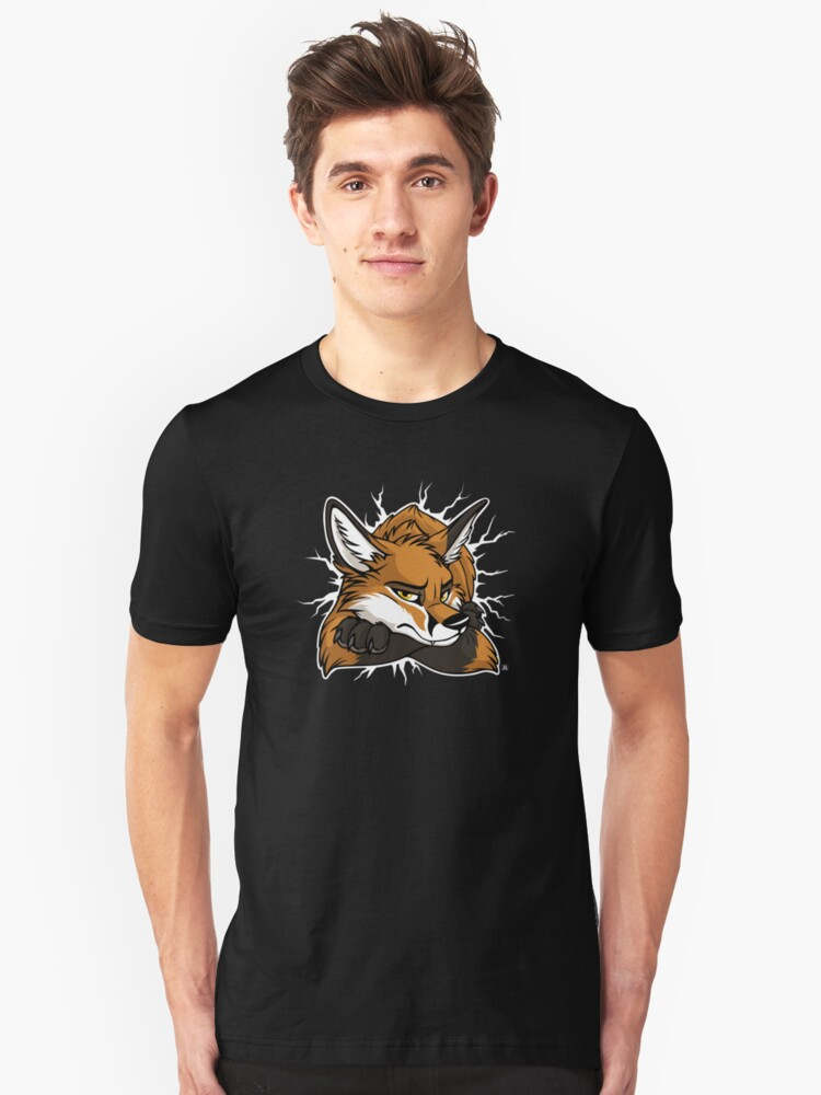 STUCK - Red Fox / Fuchs (dark backgrounds) by tanidareal