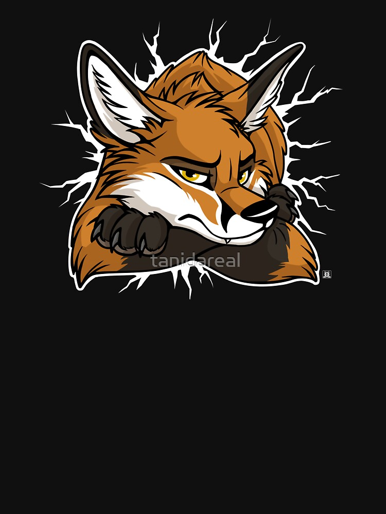 STUCK - Red Fox / Fuchs (dark backgrounds) | Unisex T-Shirt