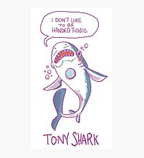 Tony Shark Photographic Print